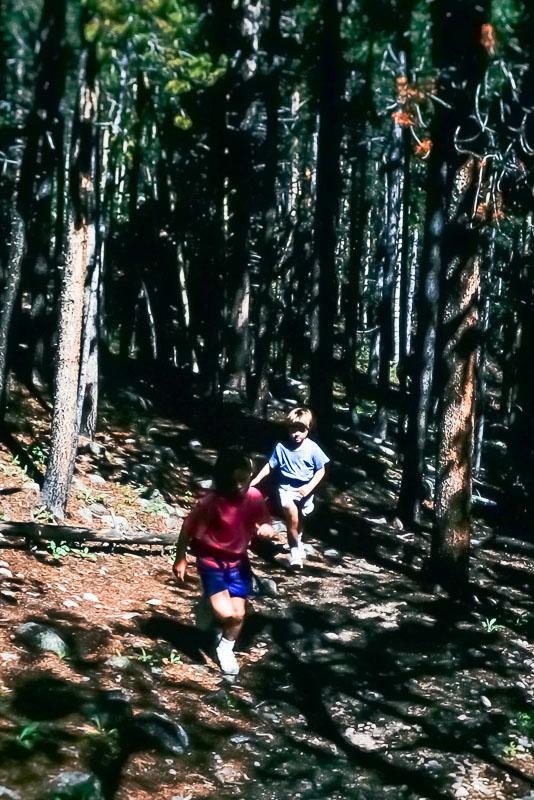 1997 Hiking outside Denver
