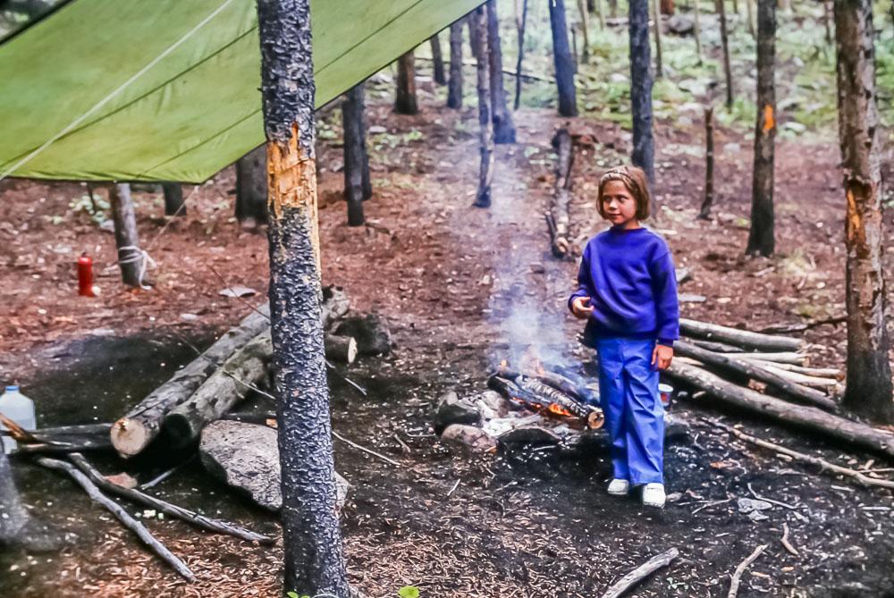 1997 Colorado camping