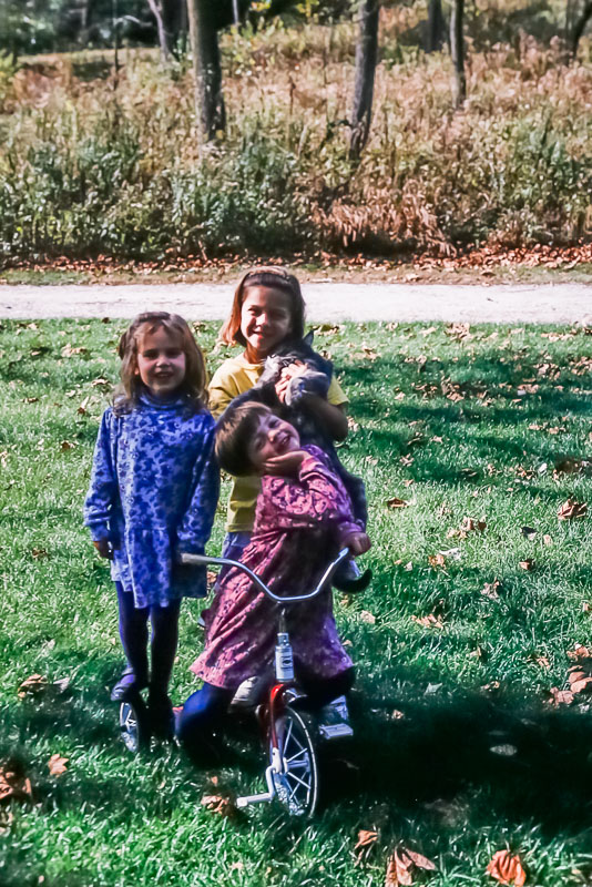 1997 Claire, Amanda, and Emily