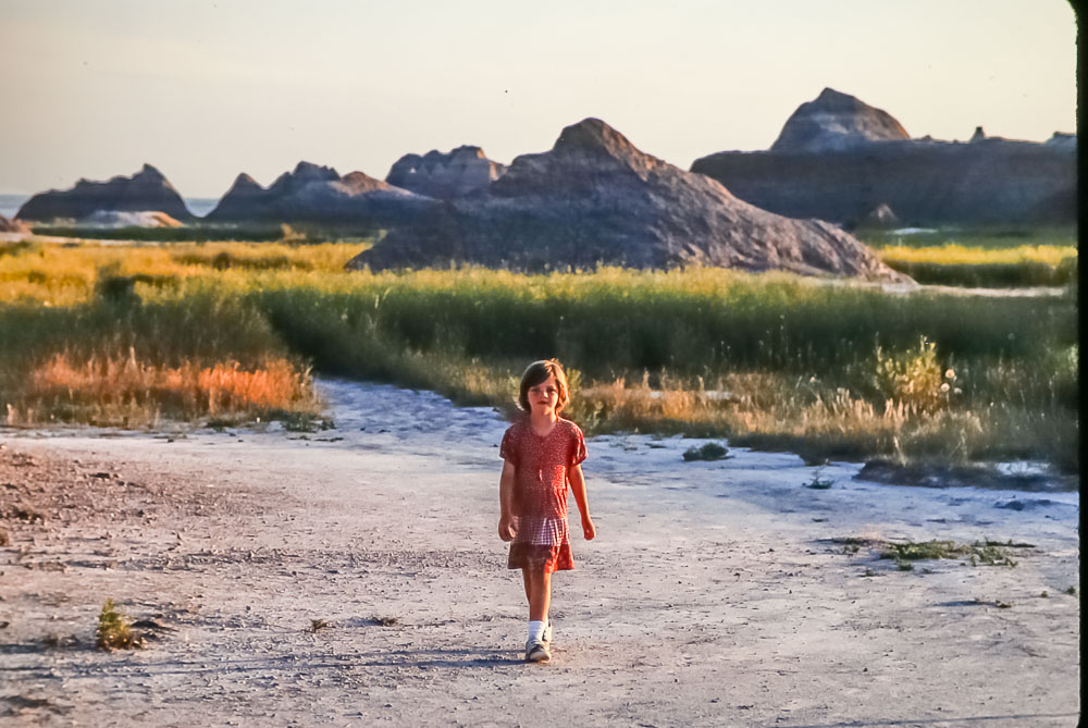 1998 Amanda in the Badlands NP