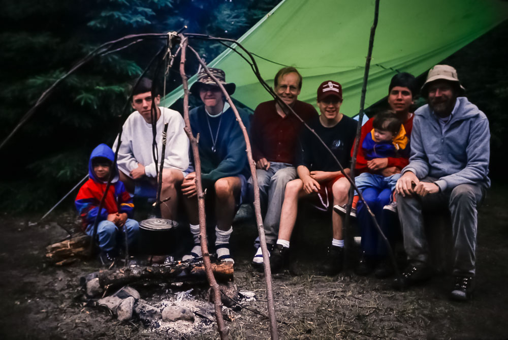 1994  Backpacking in Lake Superior PP