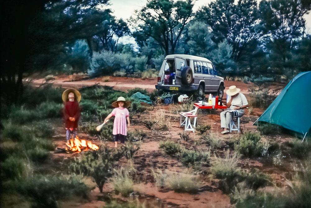 1996 Australia camping