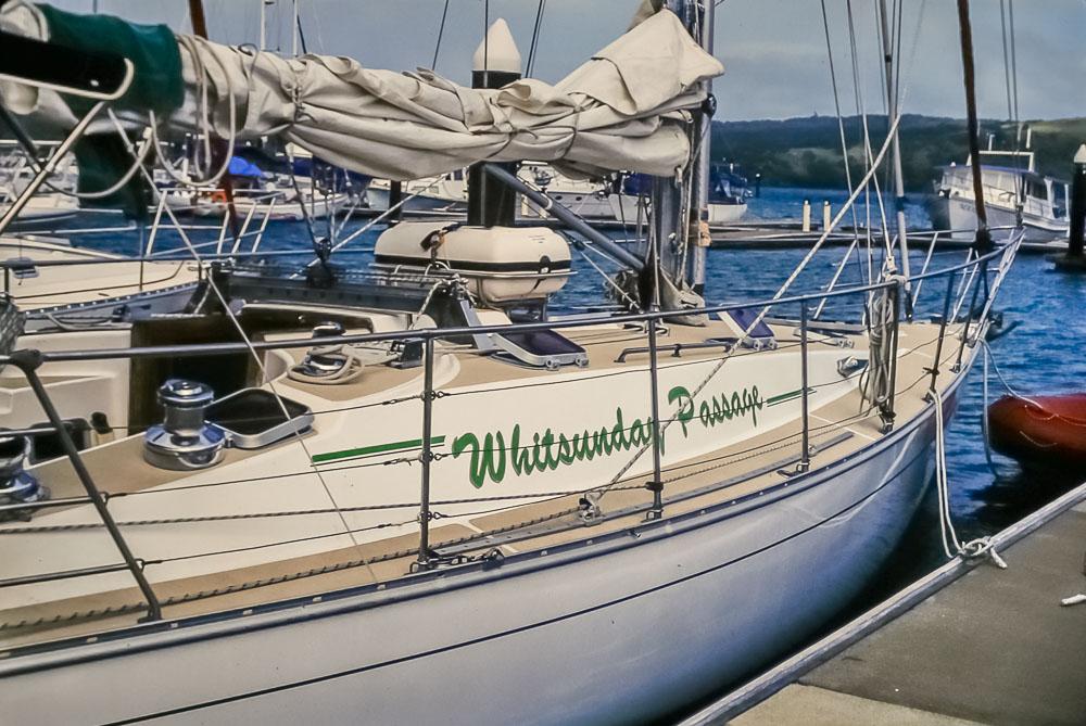 1996 Whitsunday sailing