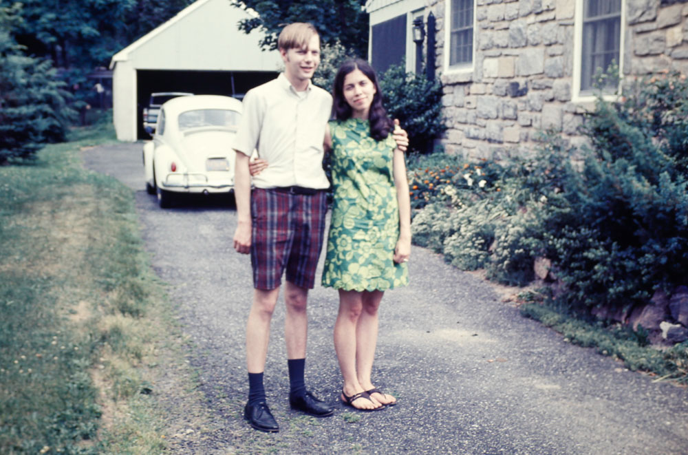 1969 David and Janet