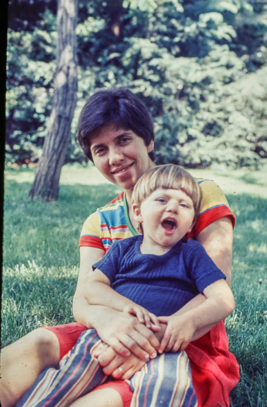 1977 Andrew and Janet