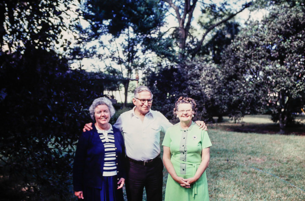 1980 Dot and Ed Fox with Fran Michel