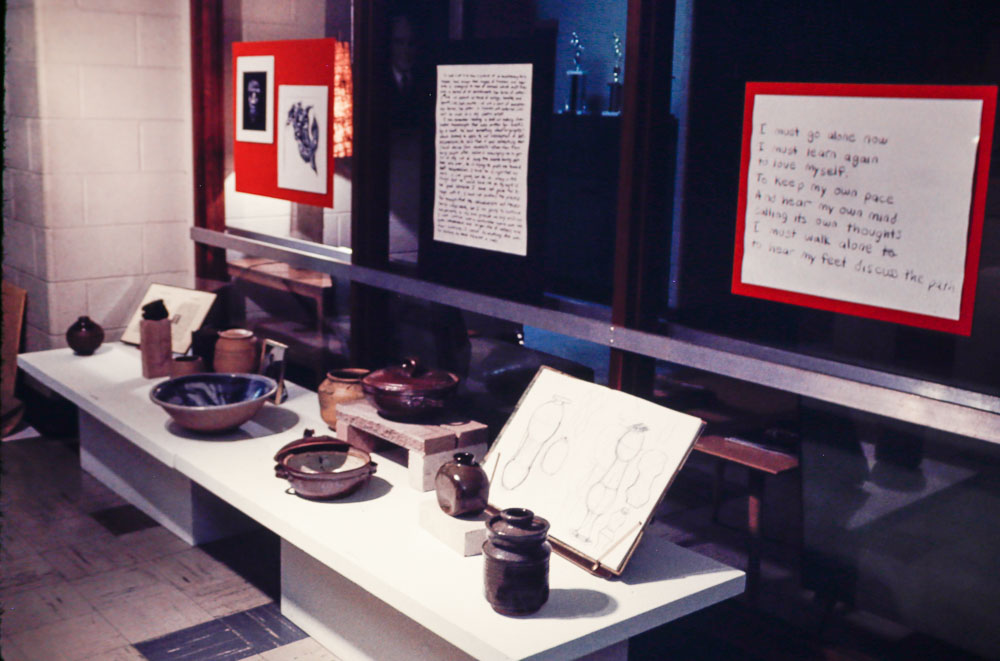 1970 Display after Phil's death