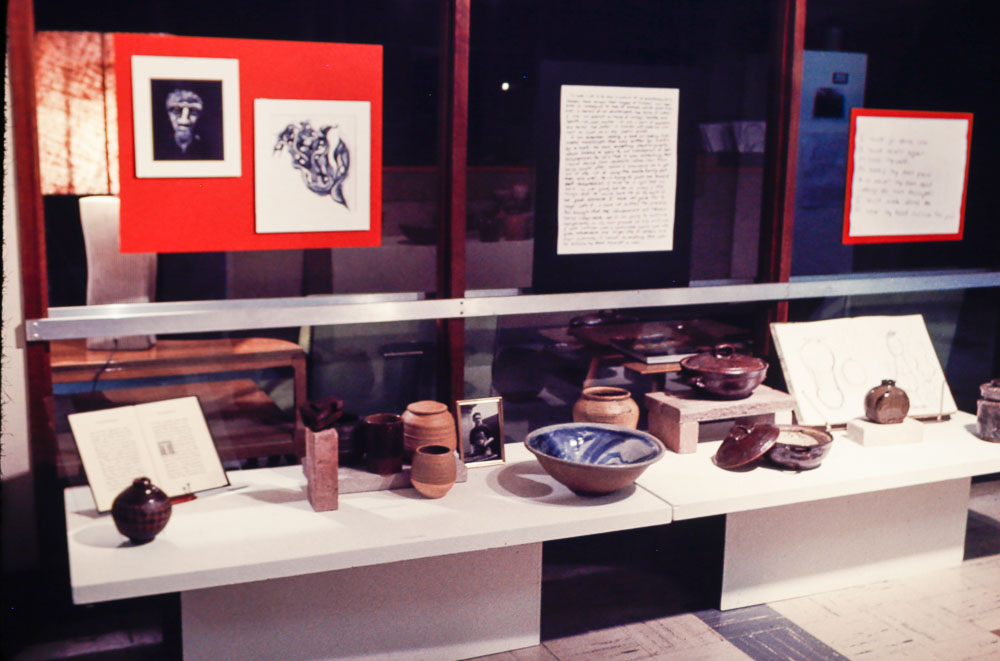 1970 display at SHS  after Phil's death