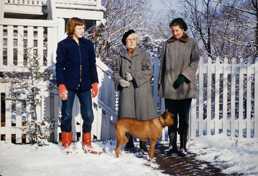 1953 Mary, Granny, Barbara