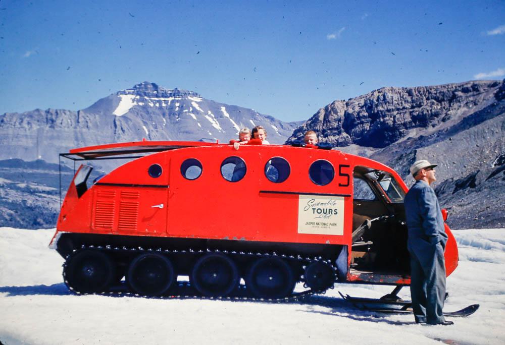 1953 Glacier tour
