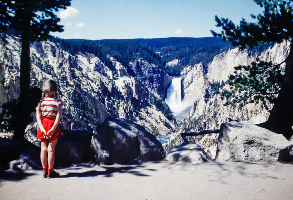 1953 Liz in Yellowstone