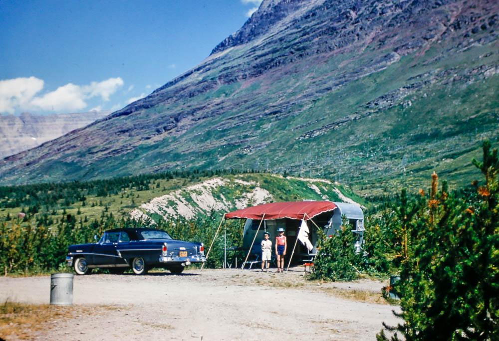 1956 Gkacier NP trip