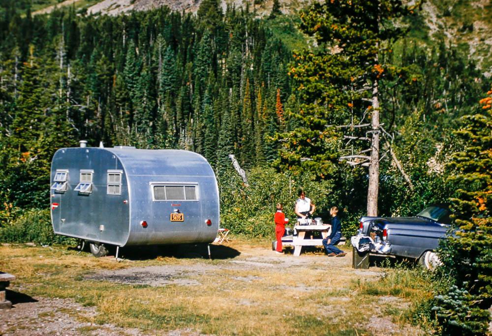 1956 Glacier campsite