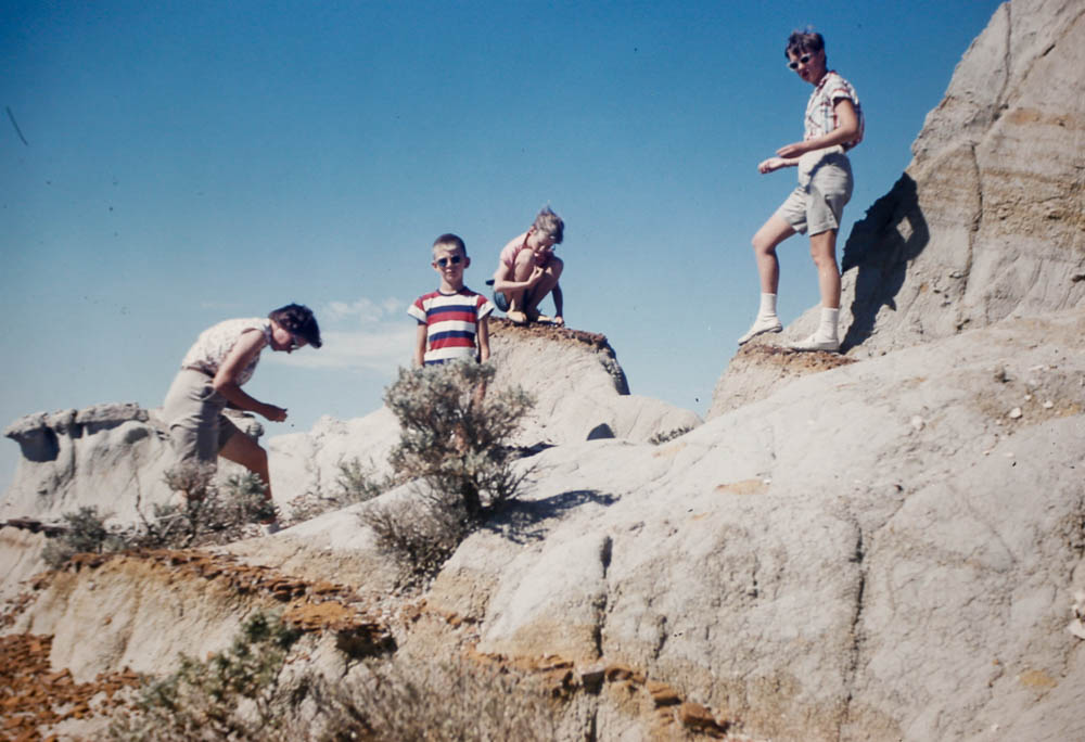 1956 at the badlands