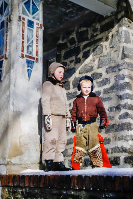 1953 David and Pat?