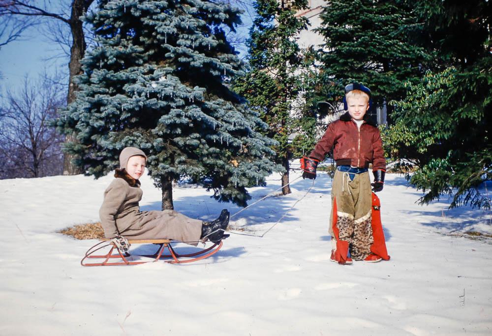 1956 David and Pat