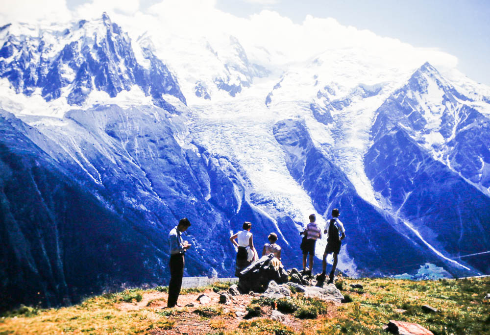 1958 Hiking the alps