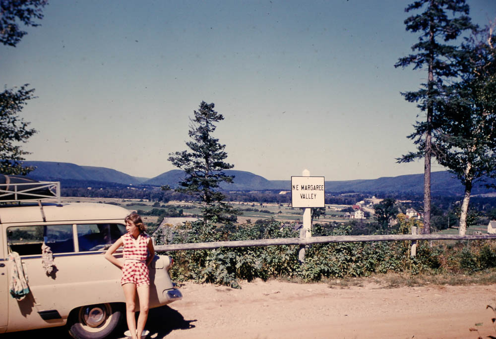 1954 Mary in Margaree Valley Nova Scotia