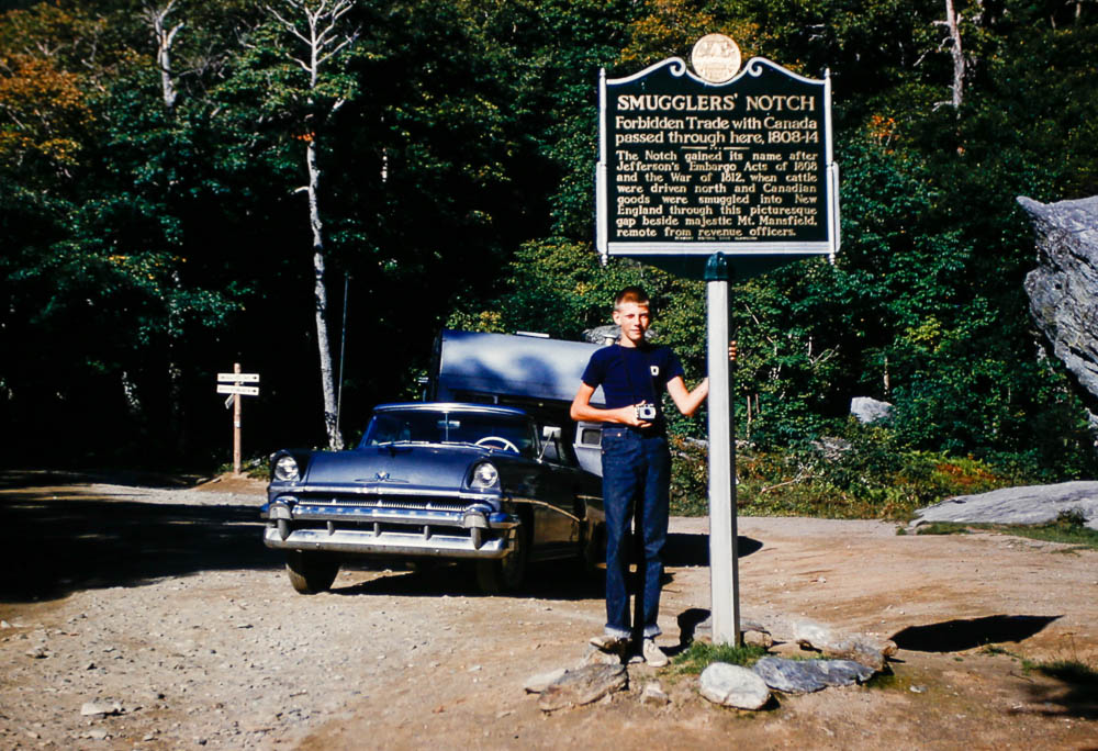 1960 David at Smuggler's Notch VT