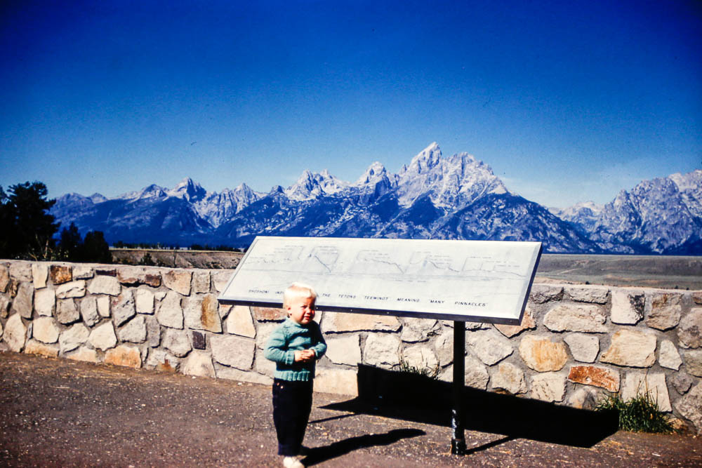 1961 Page in the Tetons