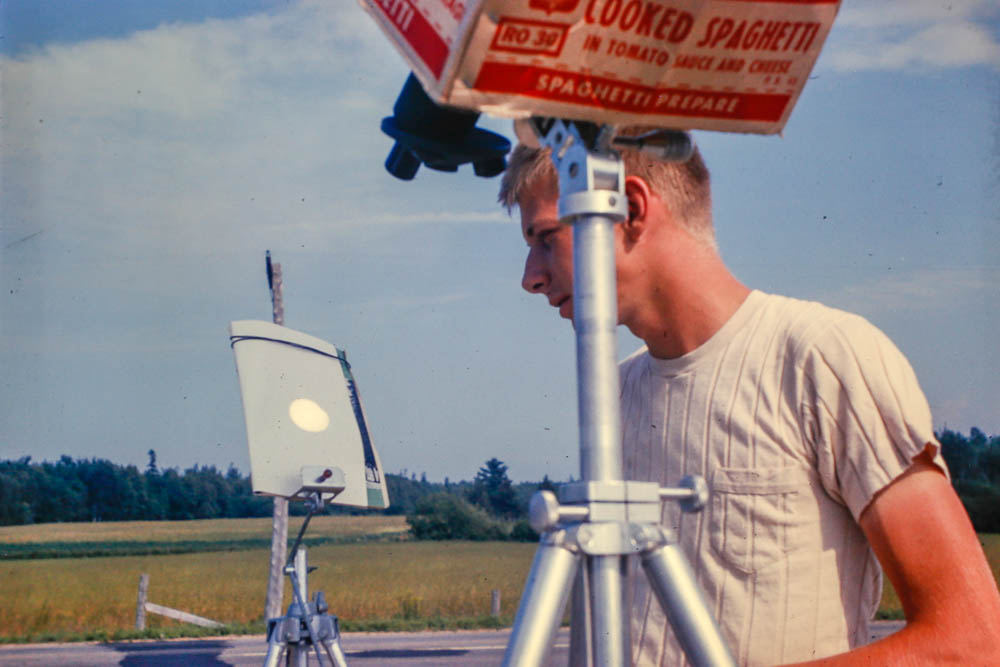 1963, July 20 - Solar eclipse in Quebec