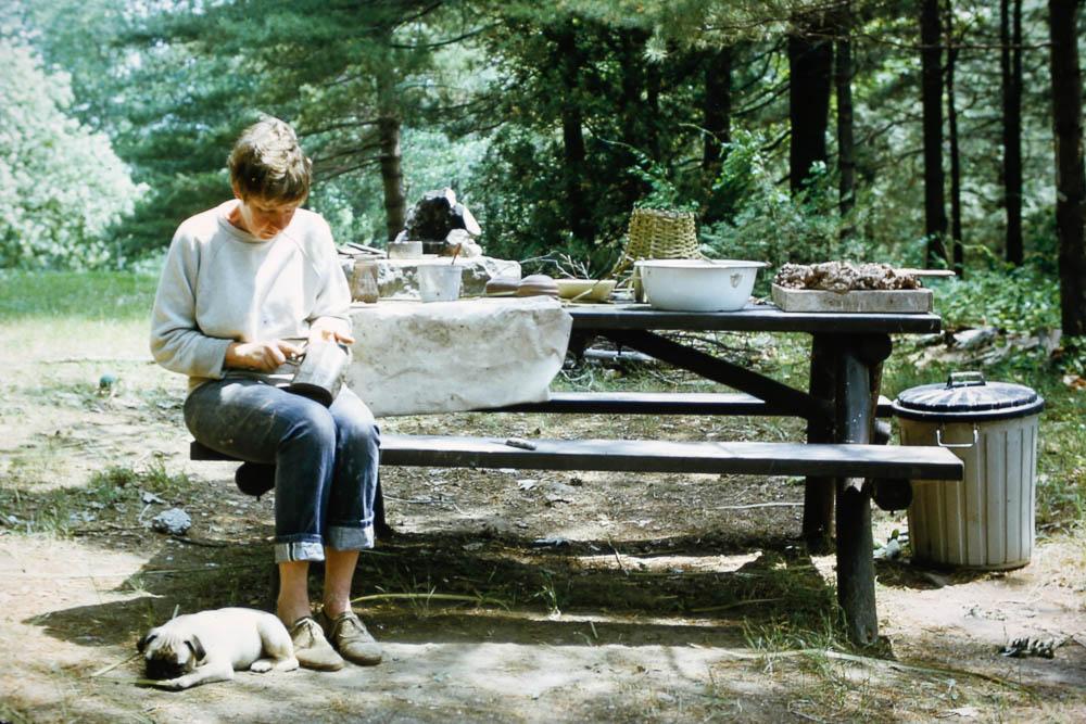 1972 Barbara Island pottery