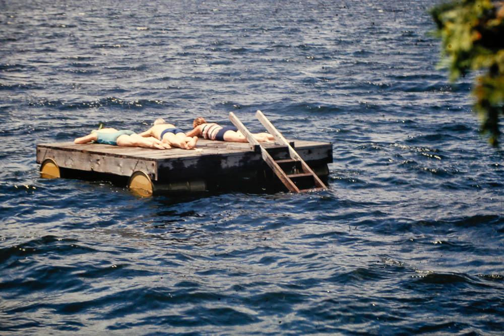 1967 Island swimming
