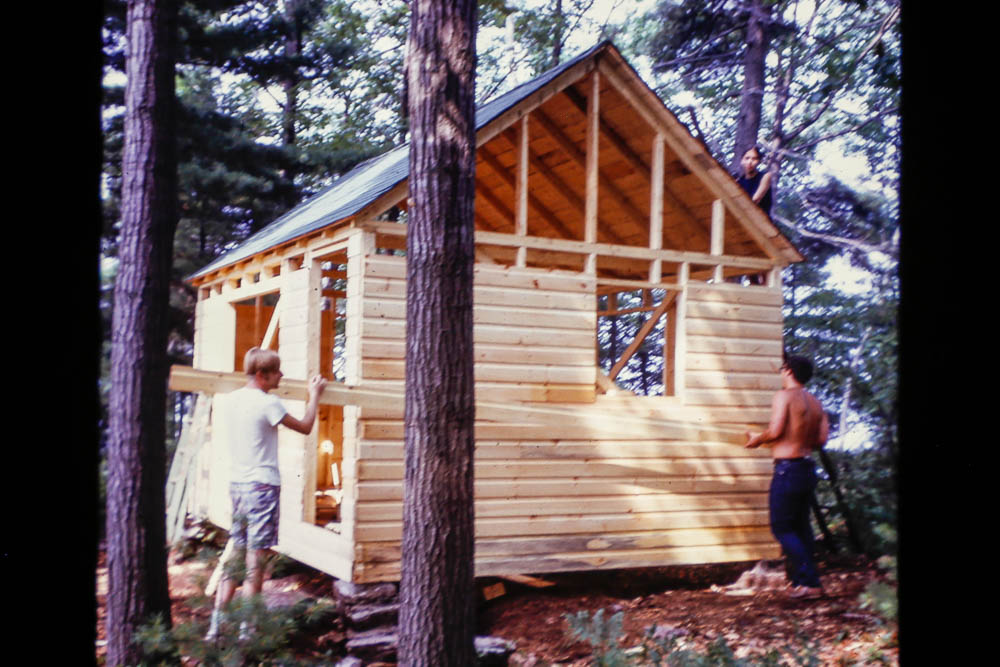 1972 Building little cabin