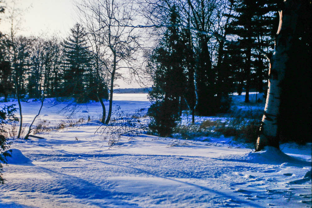 1965 Island in winter
