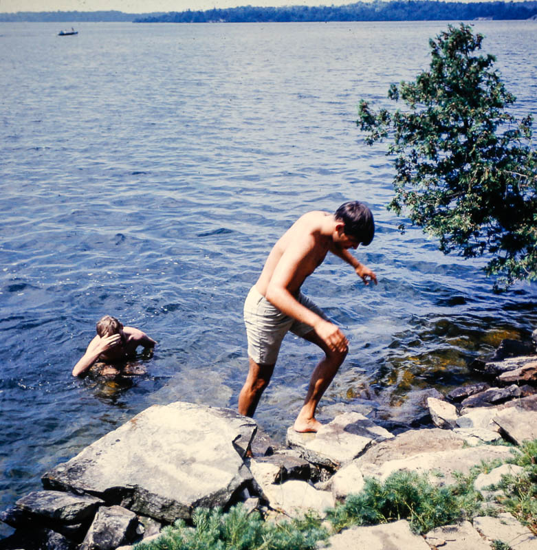1968 David and Jeff