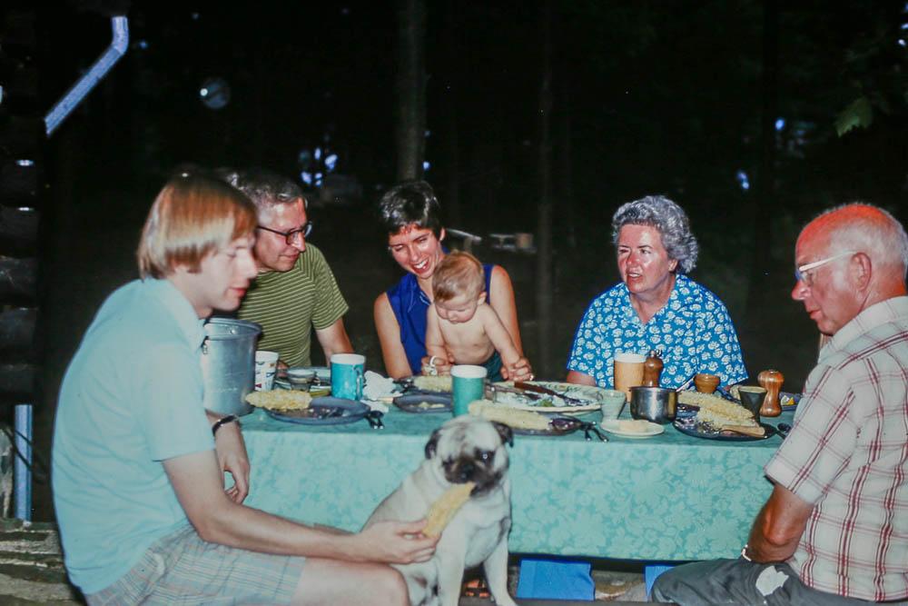 1975 Island dinner