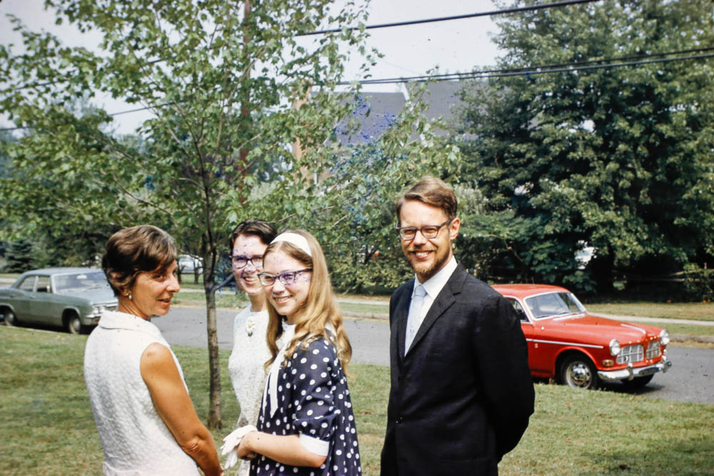1968 Heald family and Reva Diamond