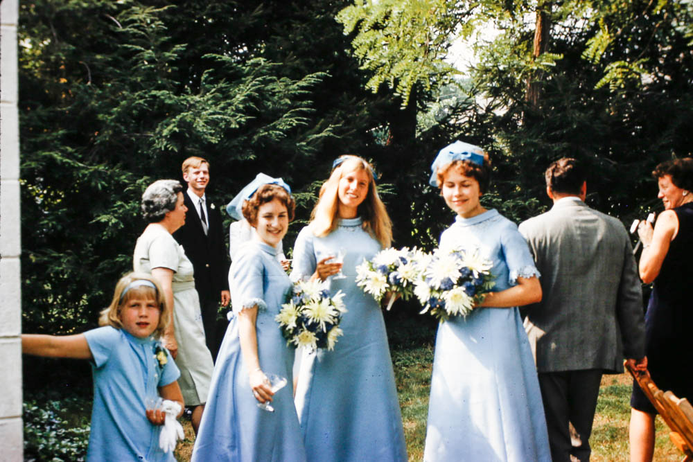 1968 - Wedding party
