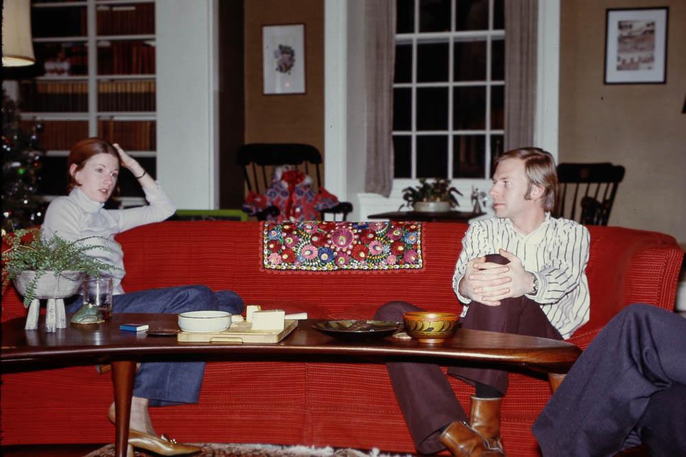1972, December - David and Elizabeth