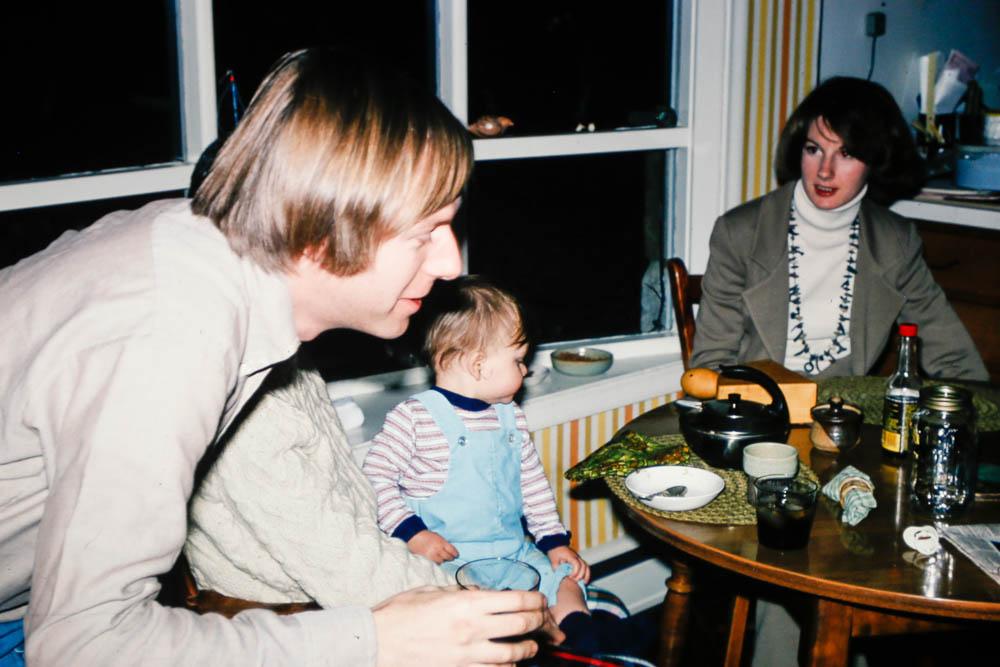 1975 Liz, David, Andrew