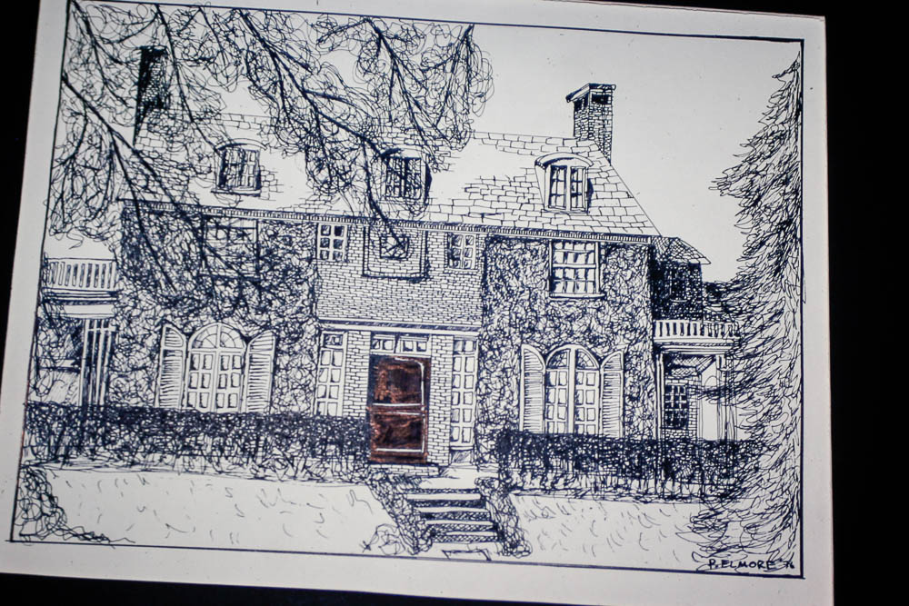 1976 Liz's N. Swarthmore House drawn by Page