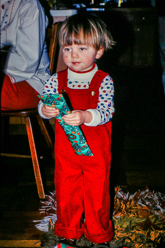 1976, Christmas - Andrew