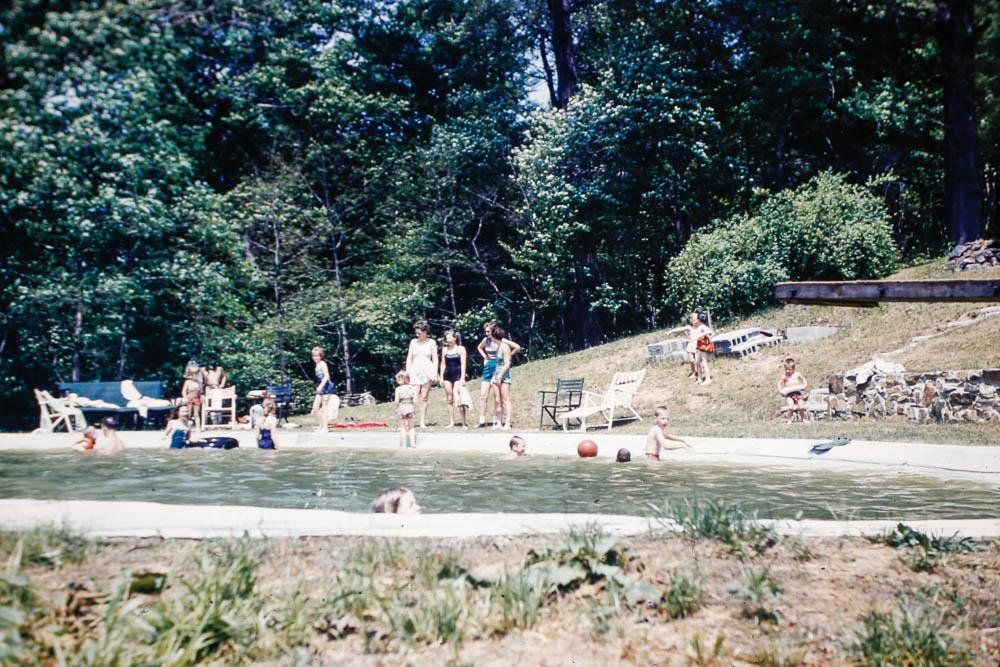 1950s Steuber pool