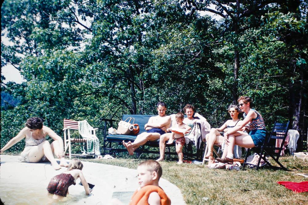 1950s Steuber's pool
