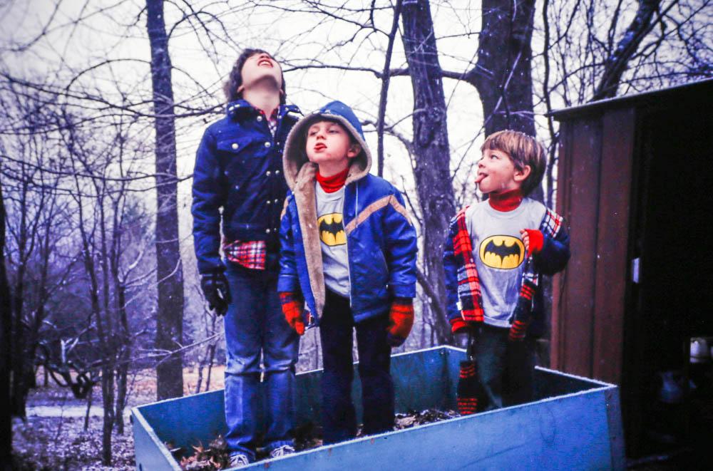 1980, December Ruck, Andrew, Steven