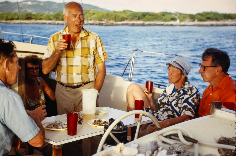1972 Grenadines sailing trip
