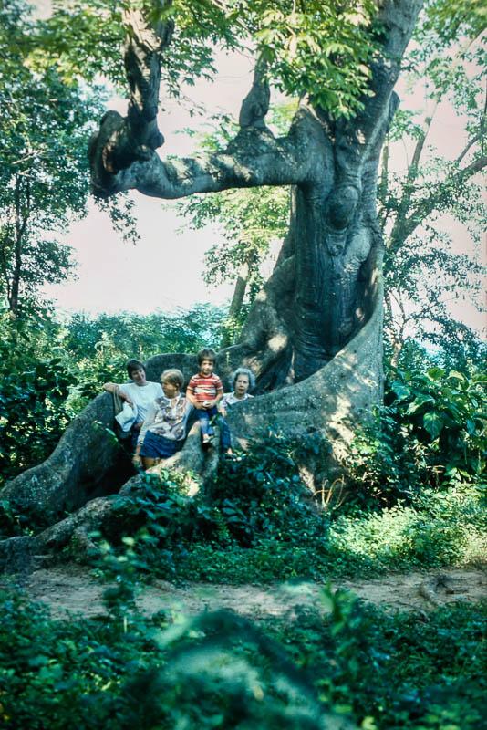 1974 Barbara, Page, Rick, Bobbie Mills