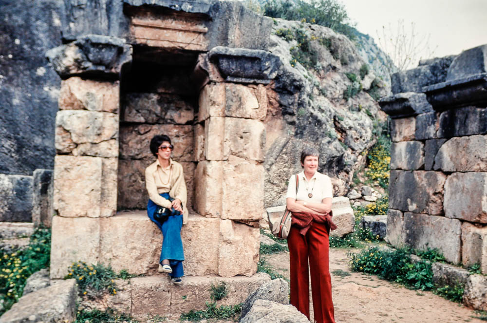 1976 Greece - Barbara and ?