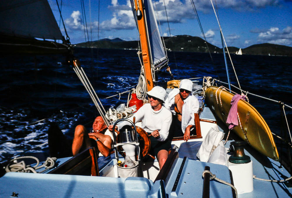 1978 Sailing Dovekie - Barbara, Janet, Tom Putnam