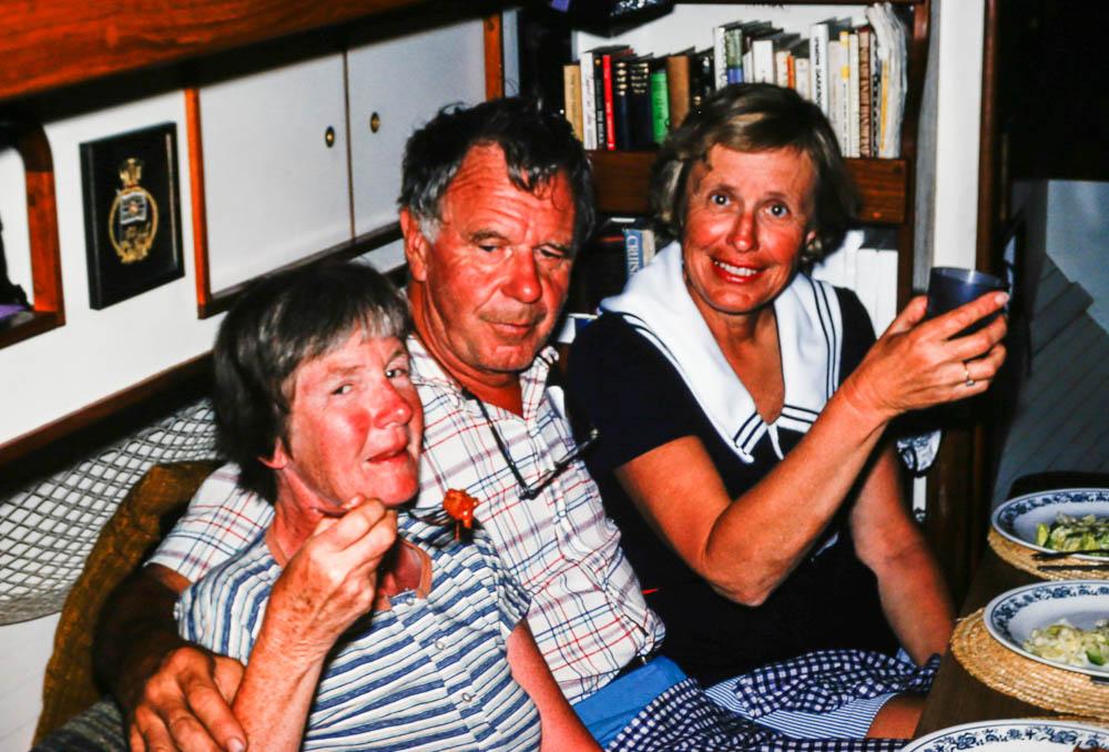 1978 Barbara, Den, Marge Outnam
