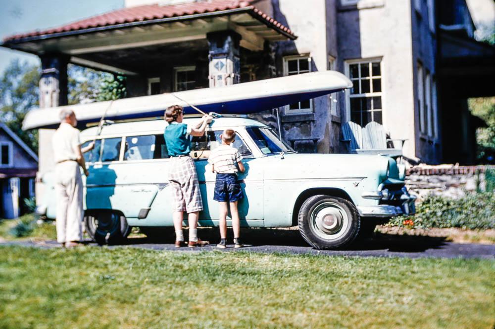 1955 First Faltboat trip
