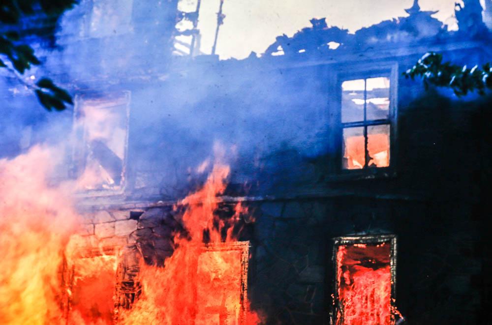 1955 Stewart School fire