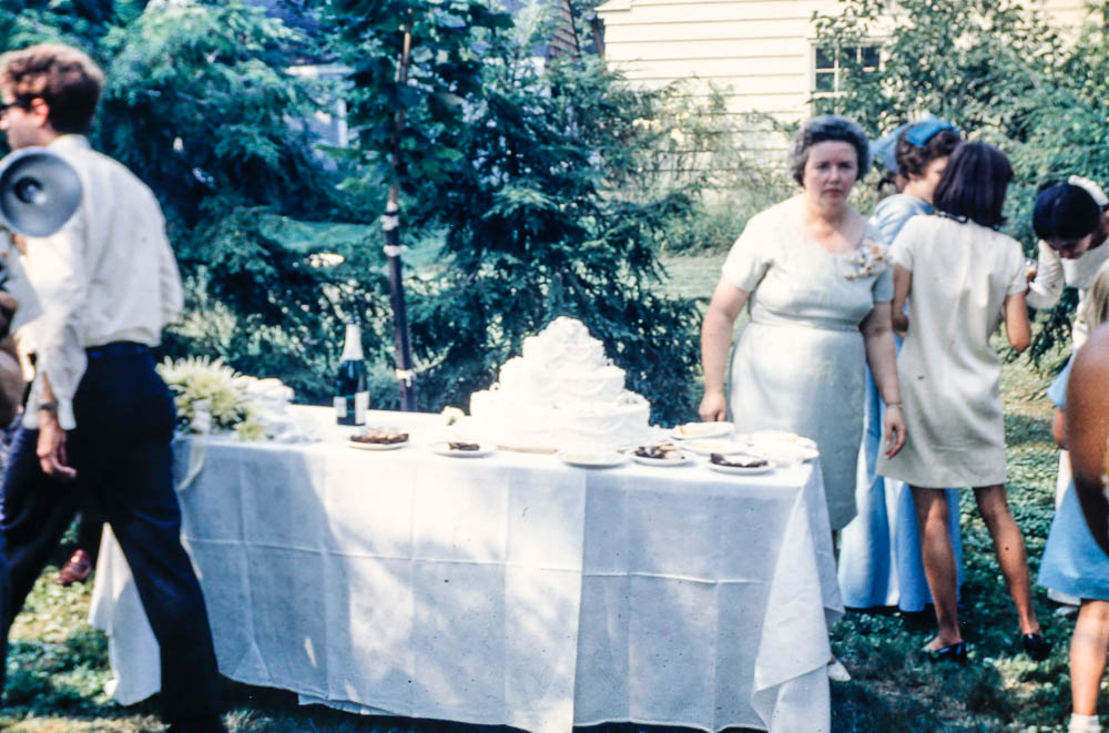 1968 David and Janet wedding