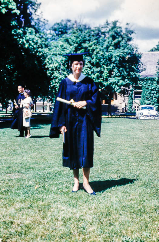1969 Liz. at Lake Forest graduation
