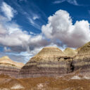 Petrified Forest NP – A Partly Cloudy Day